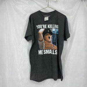 Sandlot Size L Gray Short Sleeve Shirt